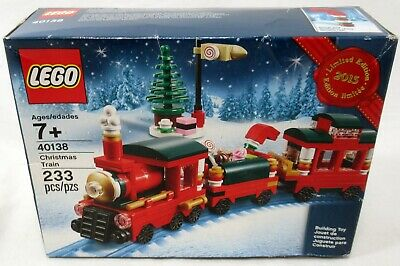 Lego 40138 Christmas Train 233 Piece Set New Sealed