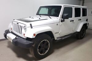 2012 Jeep WRANGLER UNLIMITED Sahara Leather|Rmt Start|New Tires|