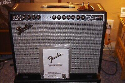 Fender Vintage Reissue '65 Twin Reverb Guitar Amplifier 85W