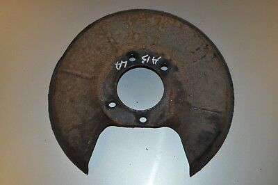 C70 92-00 Rear Brake Disc Back Plate S70 Volvo 850 Right // Offside V70