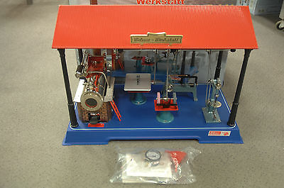 Wilesco 00141 Dampfmaschiene mit Werkstatt D141  NEU