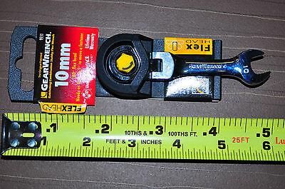 10 mm Flex Head Stubby Short Gear Ratcheting Wrench Original Gearwrench  KD 9551 ()