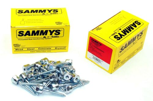 (25) Sammys 1/4-20 x 2 Threaded Rod Hanger for Wood 8003957