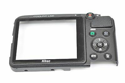 Nikon L320 Rear Back Cover With Window Replacement Repair Part