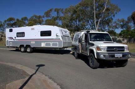 "2012 JB Caravans Scorpion 23'6""' Off Road Caravan"