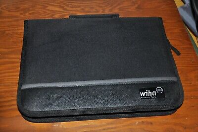 New Wiha Premium Electrician Insulated Tools Case Kit 1000v Long Nose Cutter