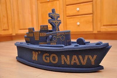 Us Naval Academy  Blue Foam Midshipmen Hat Navy Ncaa  Army Navy Game