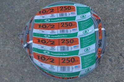Southwire 102 Uf-b Underground Feeder Wire 250 Ft Outdoor Copper Conductors