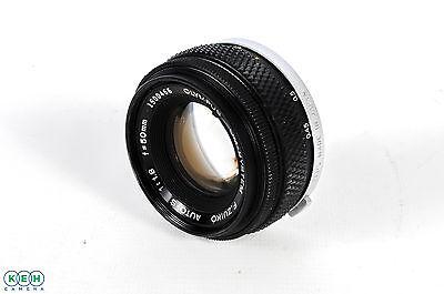 Olympus 50Mm F 1 8 Om Mount Manual Focus Lens