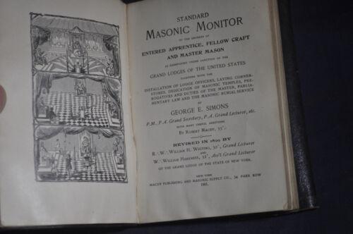 1901 Standard Masonic Monitor