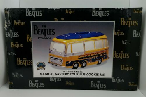 The Beatles - Magical Mystery Tour Bus Cookie Jar #64242