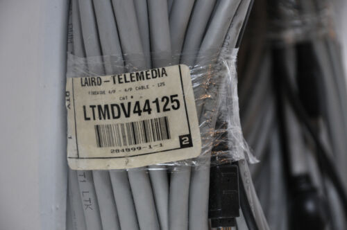 125 FT Firewire IEEE-1394 4-pin to 4-pin Cable - New