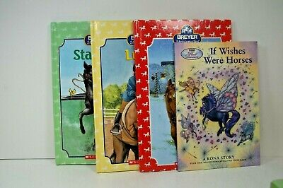 Breyer Stablemates Books Belle Starlight Lucky and If Wishes Were Horses