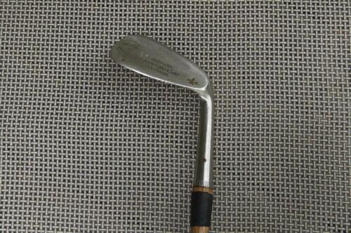 Hickory Shaft Flanged Sole Nicoll Precision Replica 7 Mashie Niblick