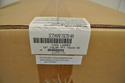 Ge Ic754vsf15ctd-kh View Loaded 15 Color Tft Touch Dc. New In Box