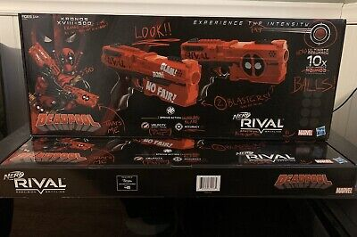 Nerf Marvel Rival Deadpool  Dual Gun Edition UPS NEXT DAY (NEW) Please Read Desc