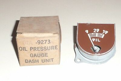 1940 Ford Standard oil pressure dash gauge NOS 40 truck pickup gage flathead V8 for sale  Shipping to Canada