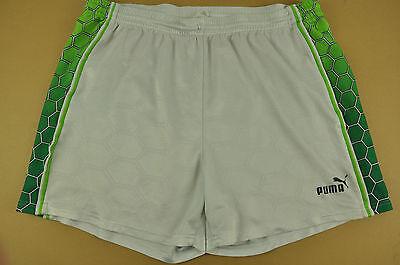 vtg Puma Nylon Sports Shorts - Glanz Ibiza - Large #328