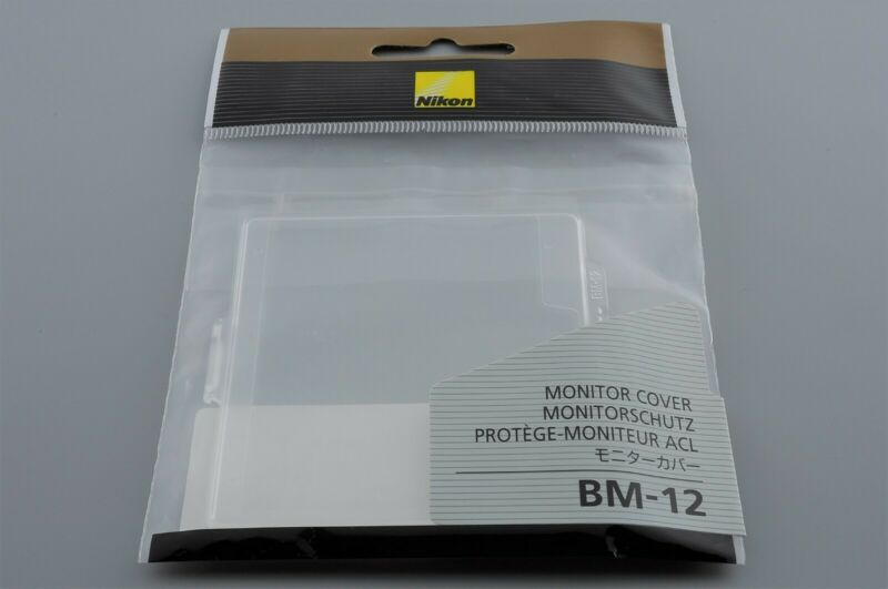 [New] Nikon BM-12 Genuine Monitor Cover for D800 D800E D810 D810A DN from Japan
