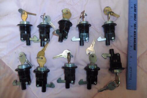 10Qty Hudson utility Lock & key multi car storage file cabinet tool box desk cam