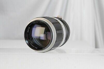 Nikon F Hanimex 135mm 2,8 135 2.8 Tokina Koki ca. 1970 Lentar Hanimar, usado segunda mano  Embacar hacia Argentina