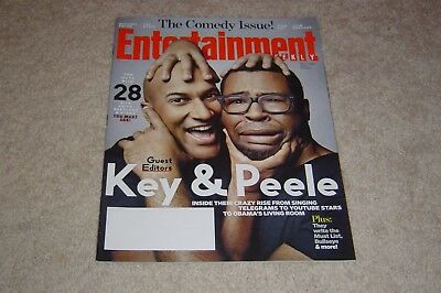 Keegan Michael Key Jordan Peele Comedy Issue 2014 Entertainment Weekly Magazine