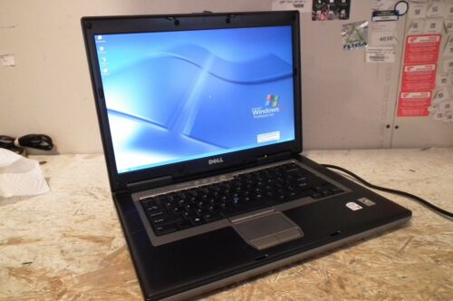 Dell D620 Laptop / 1.66ghz  / 2gb / Windows XP / WIFI / DVD / very fast! RS232