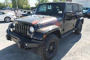 2017 Jeep WRANGLER UNLIMITED, 2 TOITS WINTER EDITION