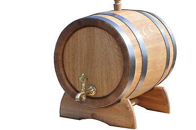 Oak BARREL 6 L wooden barrels ENGRAVER! cider whiskey barrel beer keg wine cask for sale  Shipping to Ireland
