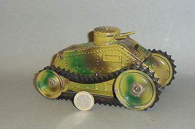 Der große Karl Bub Panzer / Tank mit Uhrwerk & 2 Kanonen 16cm lang !