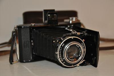 Zeiss Ikon Novar-Anastigmat 1:4,5 f=10,5 cm Tasche Klappkamera Kamera Camera