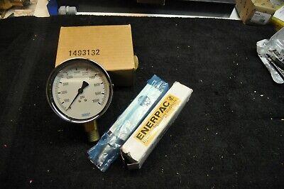 Enerpac Ga2 Gauge Adaptor W Wika 0-10000 Psi 4 Gauge