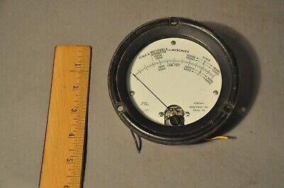 Used Original Tv-10bu Tv-10 Tube Tester Meter Sealed Jetronic Vintage Gm Meter