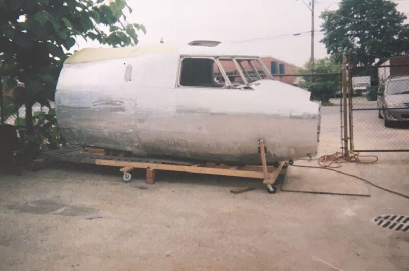 Grumman E2C-Hawkeye Cockpit Airplane