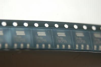 Philips Bcp55 Gp Bjt Npn 60v 1.5a 4-pin3tab Sot-223 New Lot Quantity-100