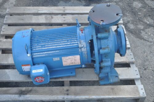 """EMERSON 10HP 3PH MOTOR INGERSOLL D824 2"""" TO 3"""" CENTRIFUGAL PUMP 250 GPM NOS"""