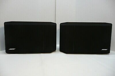 Bose ® 301 Series IV Direct / Reflecting Speakers Black Matched