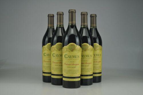 6 Bottles 2018 Caymus Cabernet Sauvignon 1.0 L