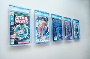 comic book display two in one turns into either a wall. Black Bedroom Furniture Sets. Home Design Ideas