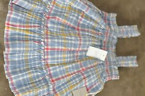 Baby Gap Plaid Dress Sz 12-18 months