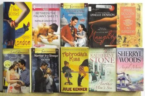 Lot of 10 THICK ROMANCE NOVELS Books FREE US S/H Read List Lot #H518