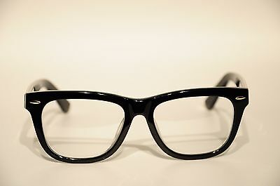 Zenni Optical Acetate Full Rim Frame Eyeglasses Black 52 18 147 New