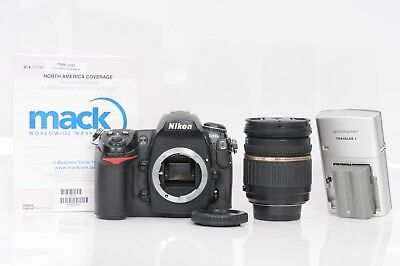 Nikon D300s 12.3MP Digital SLR Camera + Tamron 17-50mm f2.8 + WARRANTY #CR