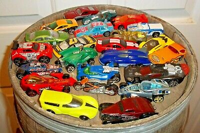 BEST 23 MIXED LOT DIECAST COLLECTIBLE HOT WHEELS CARS ON EBAY LOOSE VERY GOOD