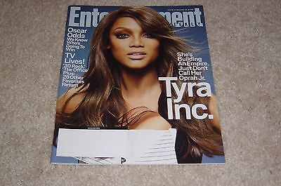 Tyra Banks Inc February 22 2008 Entertainment Weekly Magazine  979