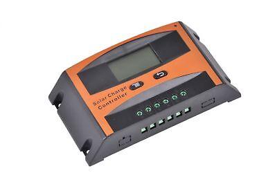 Solar PV Laderegler 12V 24V mit Display Controller Regler 10a 20a 30a 40a 50a ()