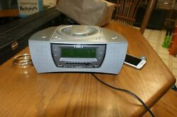 Timex Stereo CD Dual Alarm Clock Radio  Nature Sounds T608T