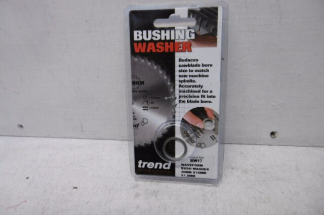 TREND WAVEFORM  CIRCULAR SAW BLADE BUSHING WASHER 20MM TO 16MM  BW17