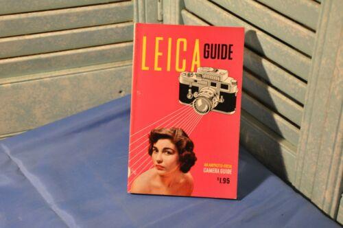 Leica Guide Amphoto Focal Camera Guide Camera Vintage Book 1957