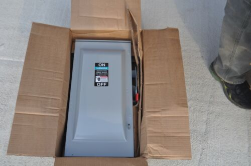 Siemens GNF323R  Non-Fusible Safety Switch/Disconnect 100A 240V 3P  NEW
